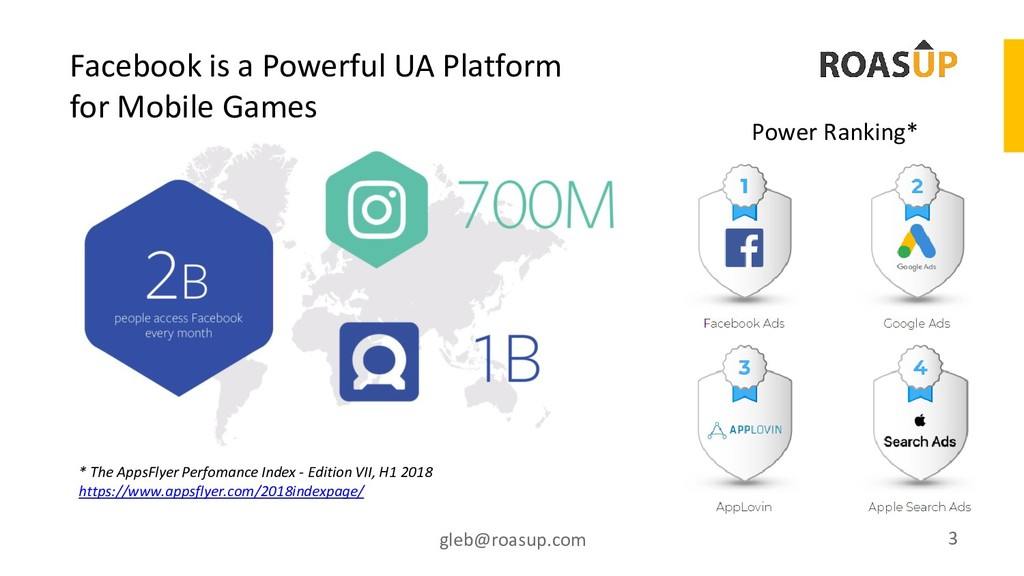 Facebook is a Powerful UA Platform for Mobile G...