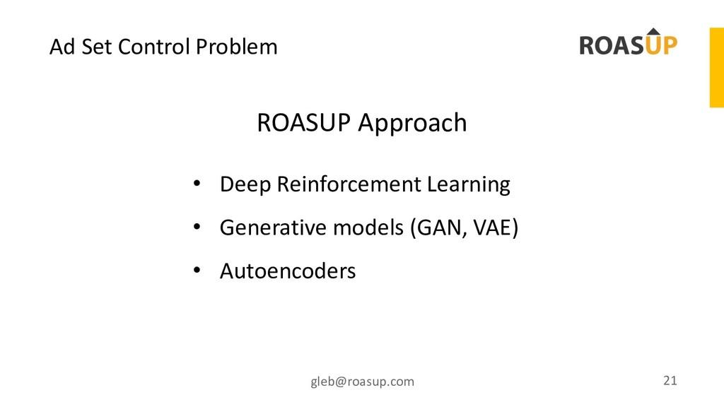 Ad Set Control Problem gleb@roasup.com 21 • Dee...
