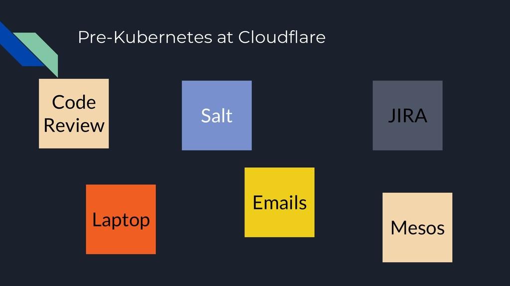 Pre-Kubernetes at Cloudflare Salt JIRA Laptop M...