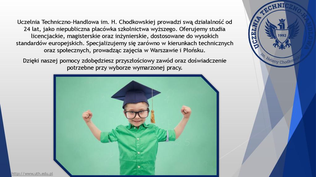 Uczelnia Techniczno-Handlowa im. H. Chodkowskie...