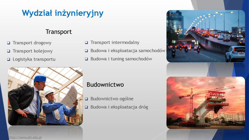Transport  Transport drogowy  Transport kolej...