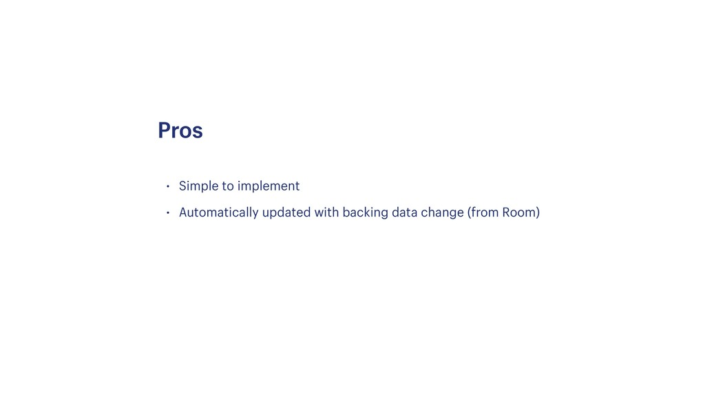 • Simple to implement • Automatically updated w...