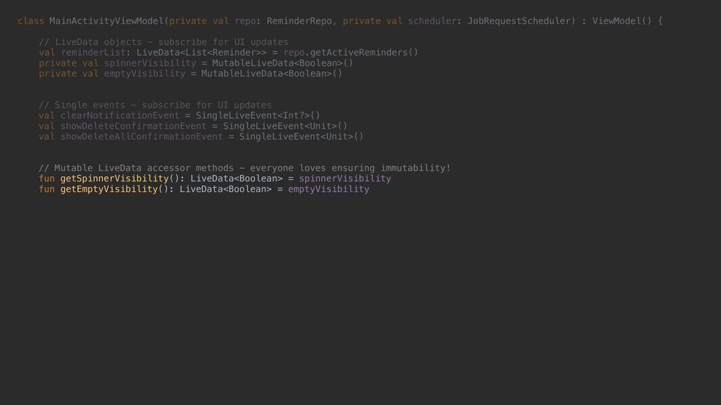 class MainActivityViewModel(private val repo: R...
