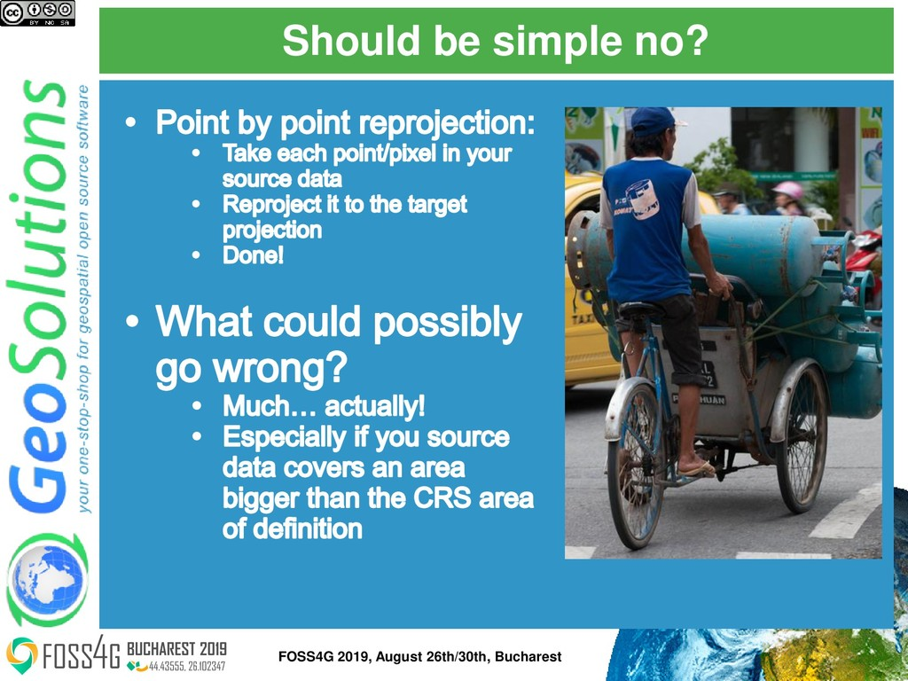 Should be simple no? FOSS4G 2019, August 26th/3...
