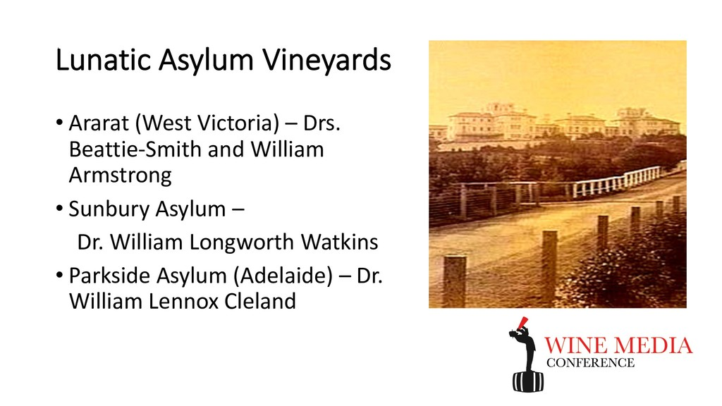 Lunatic Asylum Vineyards • Ararat (West Victori...