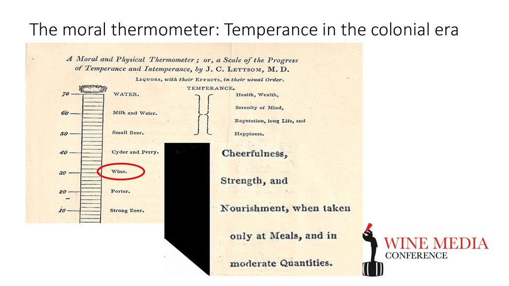 The moral thermometer: Temperance in the coloni...