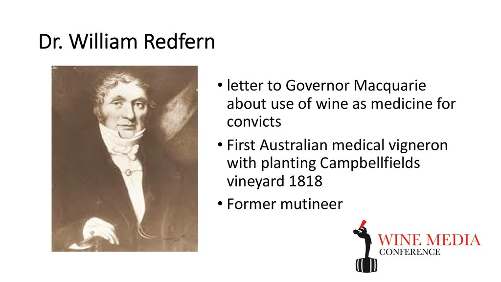 Dr. William Redfern • letter to Governor Macqua...