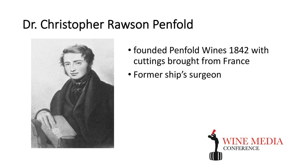 Dr. Christopher Rawson Penfold • founded Penfol...