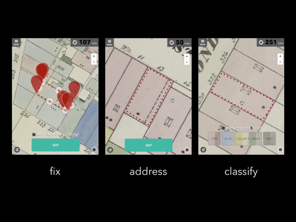 fix address classify