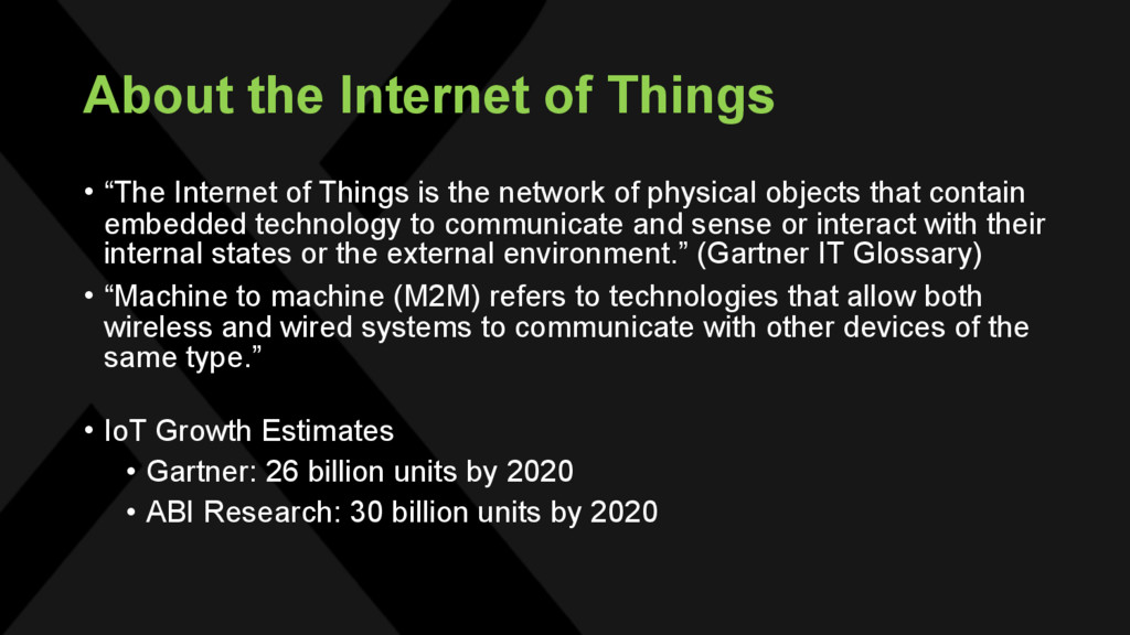 "About the Internet of Things • ""The Internet of..."