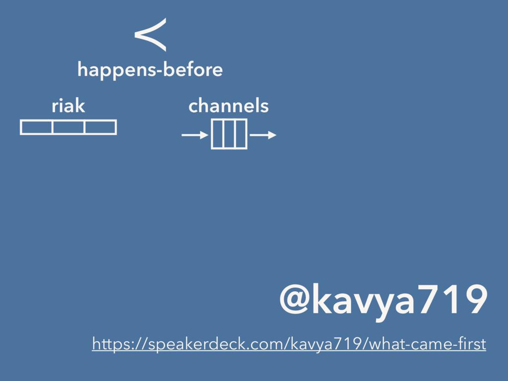 @kavya719 ≺ happens-before riak channels https:...