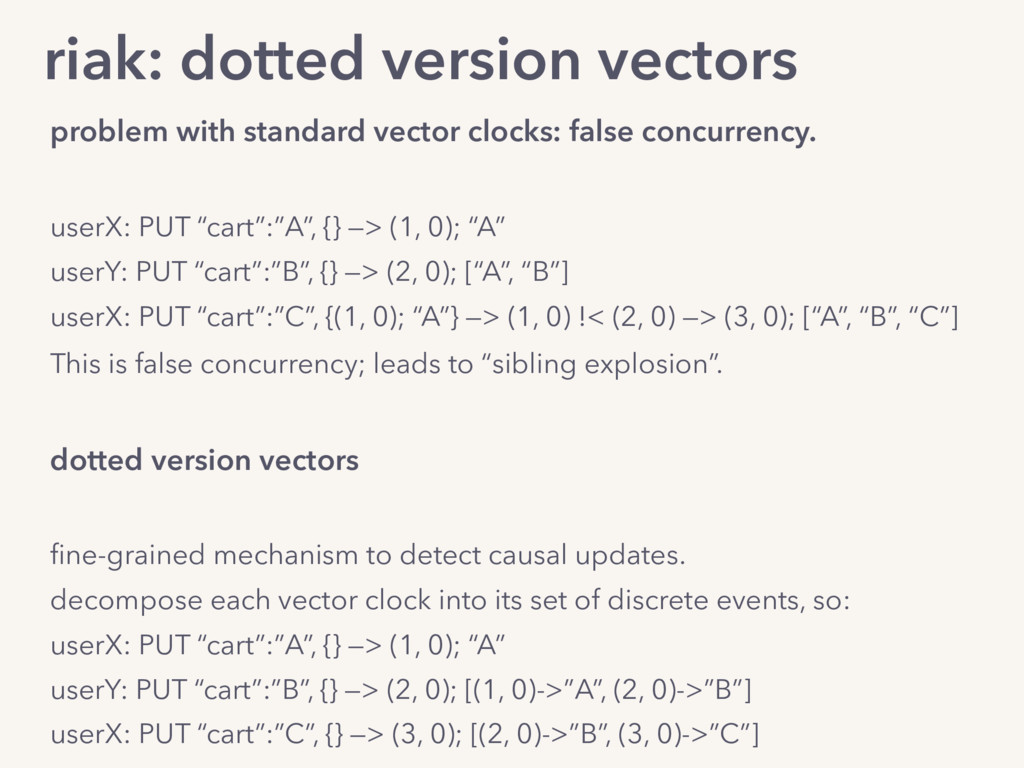 riak: dotted version vectors problem with stand...