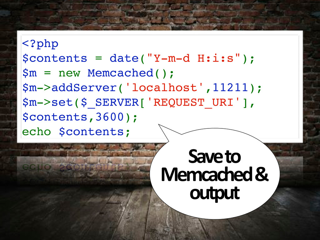 """<?php $contents = date(""""Y-m-d H:i:s""""); $m = new..."""
