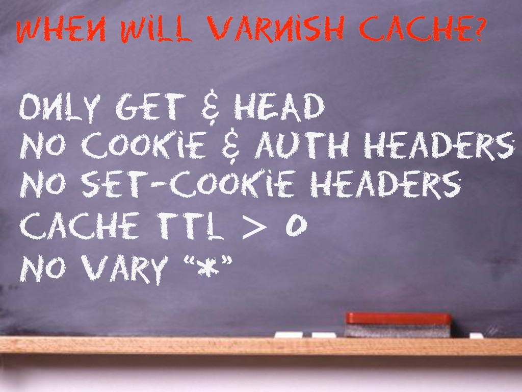 Only get & HEAD No cookie & auth headers No set...