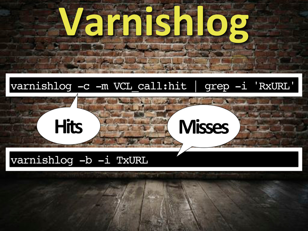 varnishlog -c -m VCL_call:hit | grep -i 'RxURL'...
