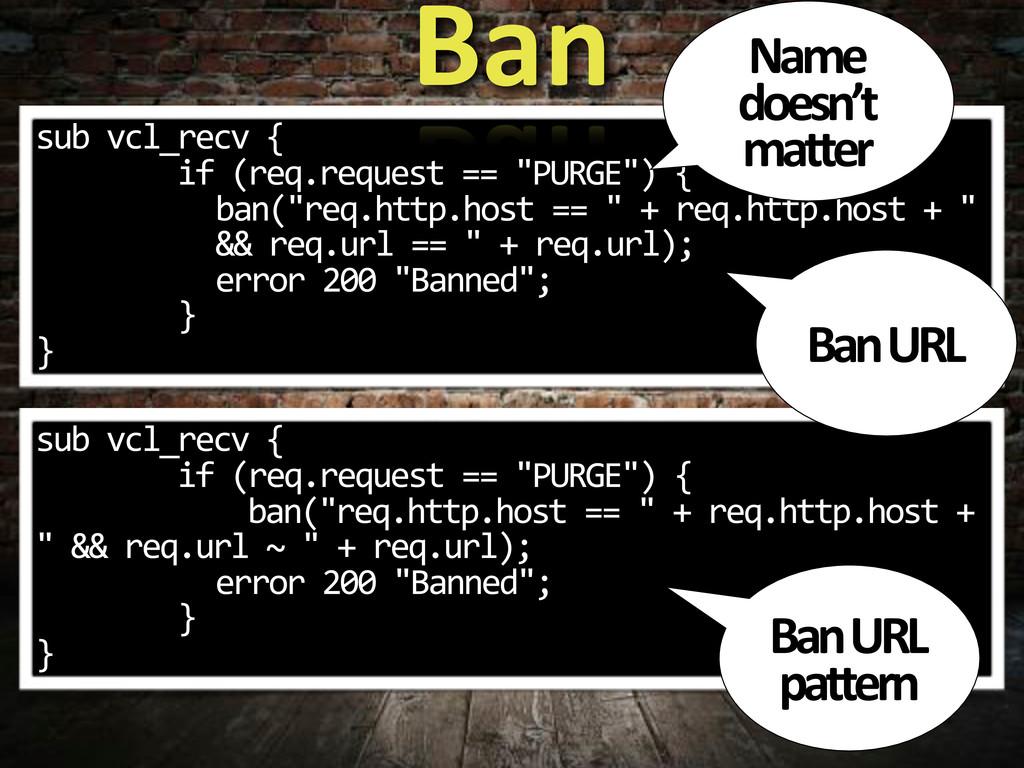 """sub*vcl_recv*{ ********if*(req.request*==*""""PURG..."""
