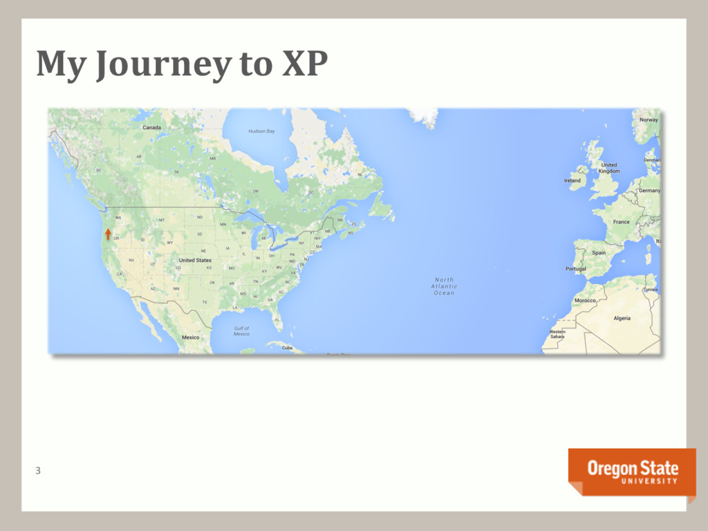 My Journey to XP 3