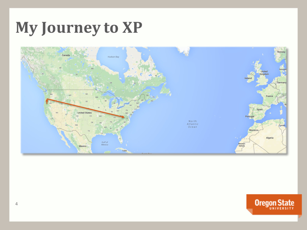 My Journey to XP 4