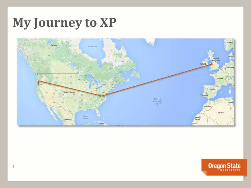 My Journey to XP 5