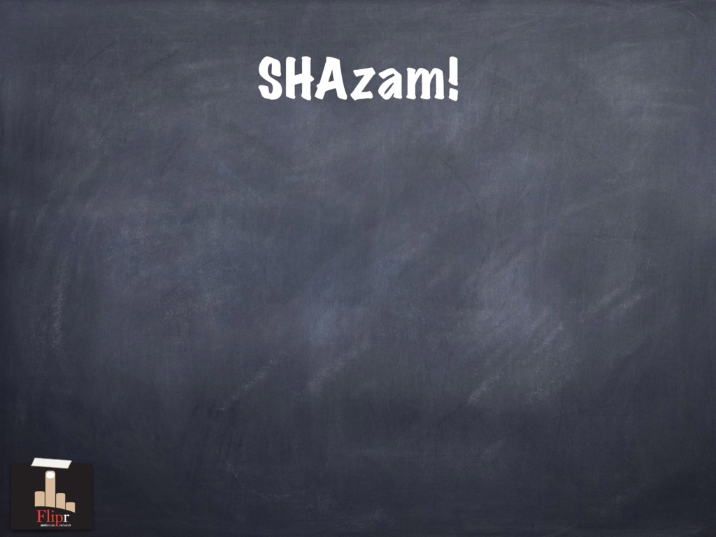 SHAzam! antisocial network