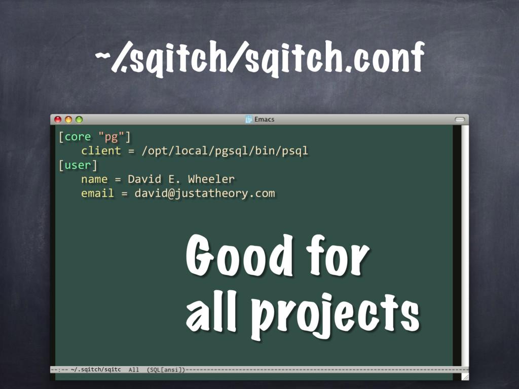 """~/.sqitch/sqitc ~/ .sqitch/sqitch.conf [core """"p..."""