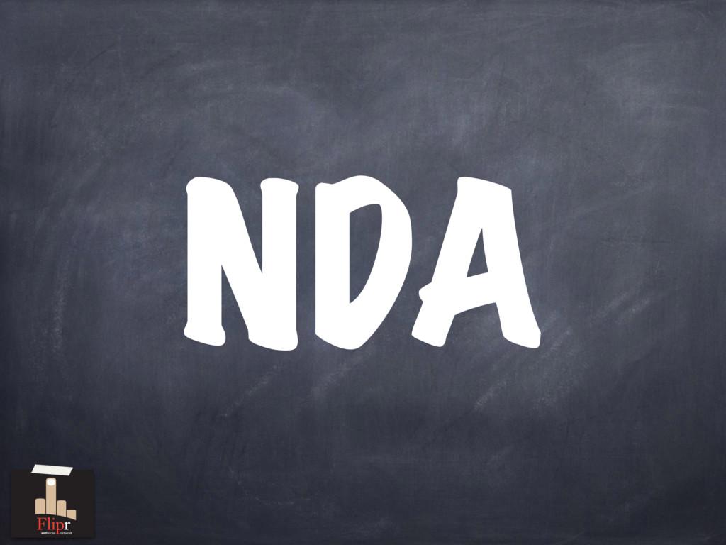 NDA antisocial network