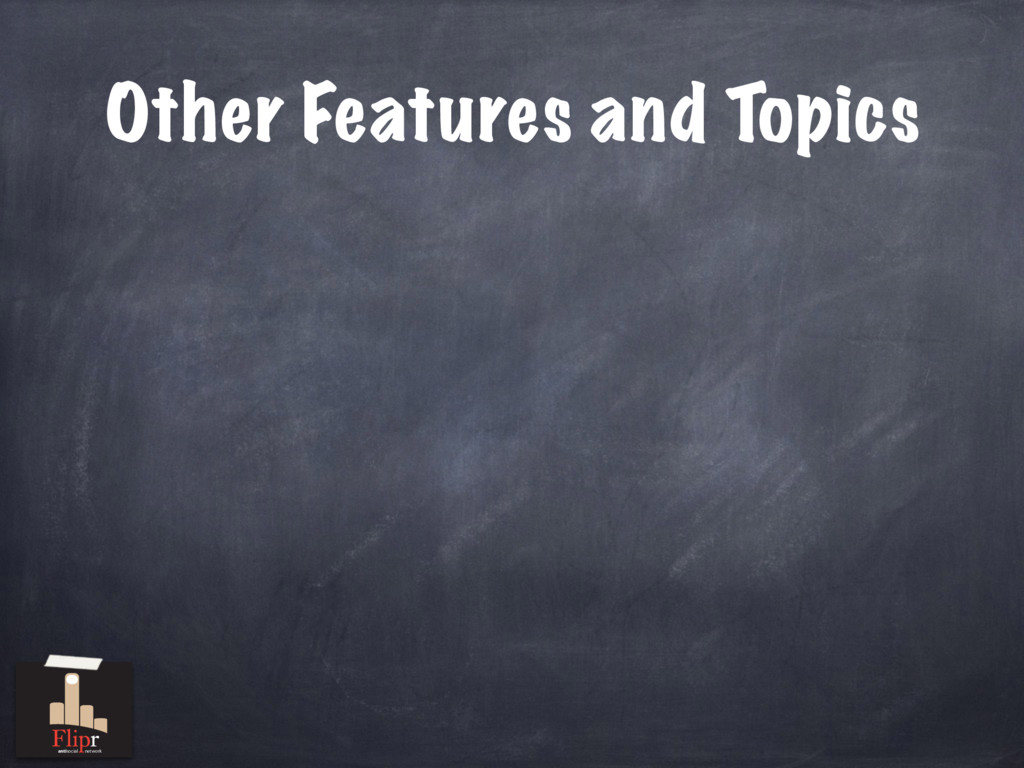 Other Features and Topics antisocial network