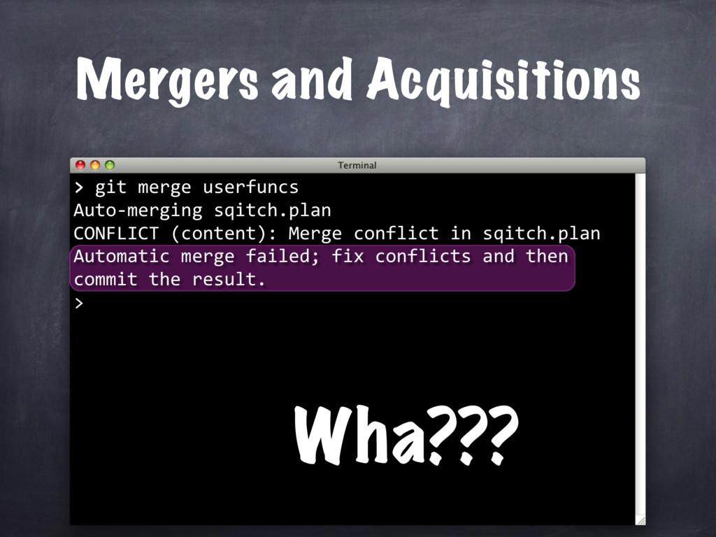 > git merge userfuncs Auto-merging sqitch.plan ...