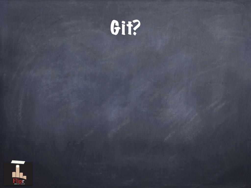 Git? antisocial network