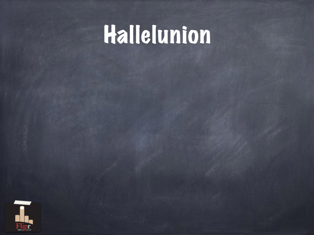 Hallelunion antisocial network
