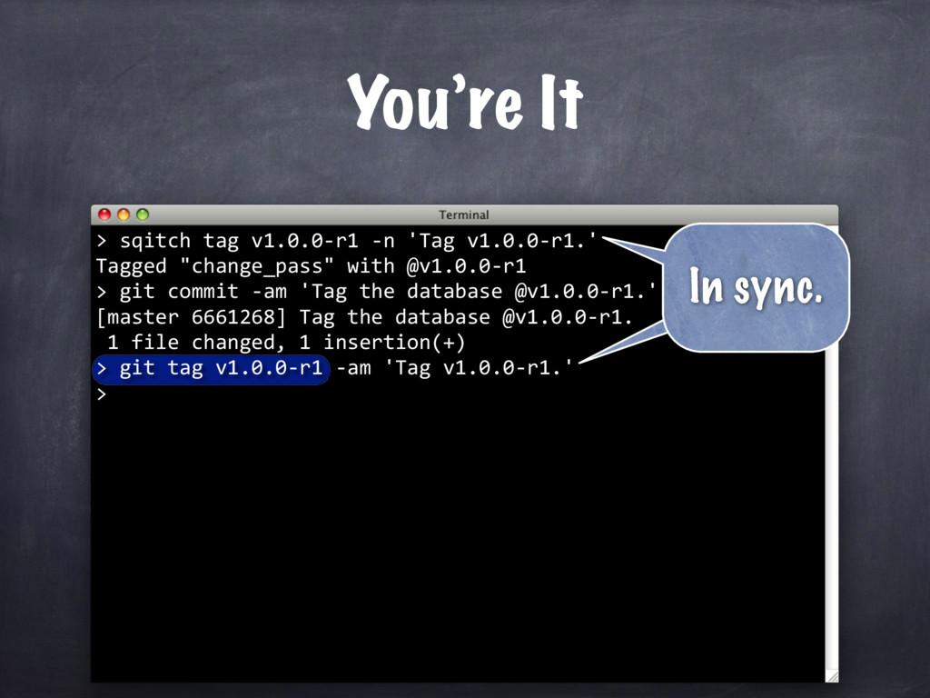 git tag v1.0.0-r1 -am 'Tag v1.0.0-r1.' > sqitch...