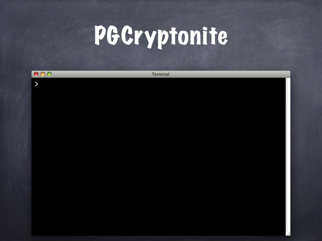 PGCryptonite >