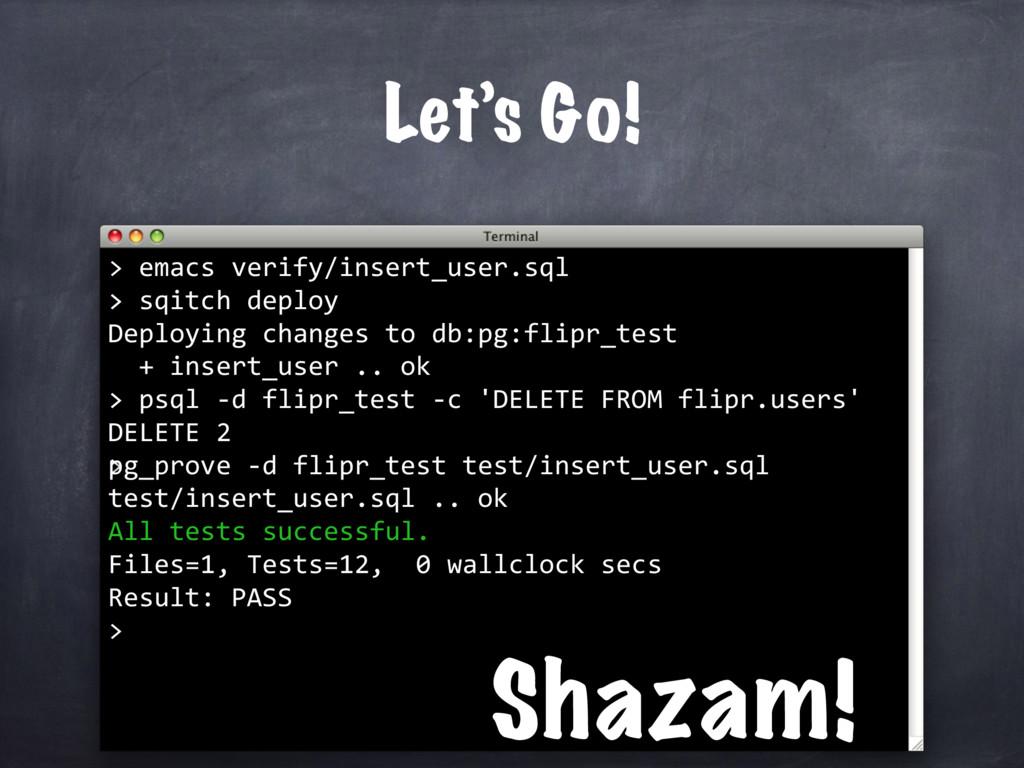 > emacs verify/insert_user.sql > Let's Go! > sq...