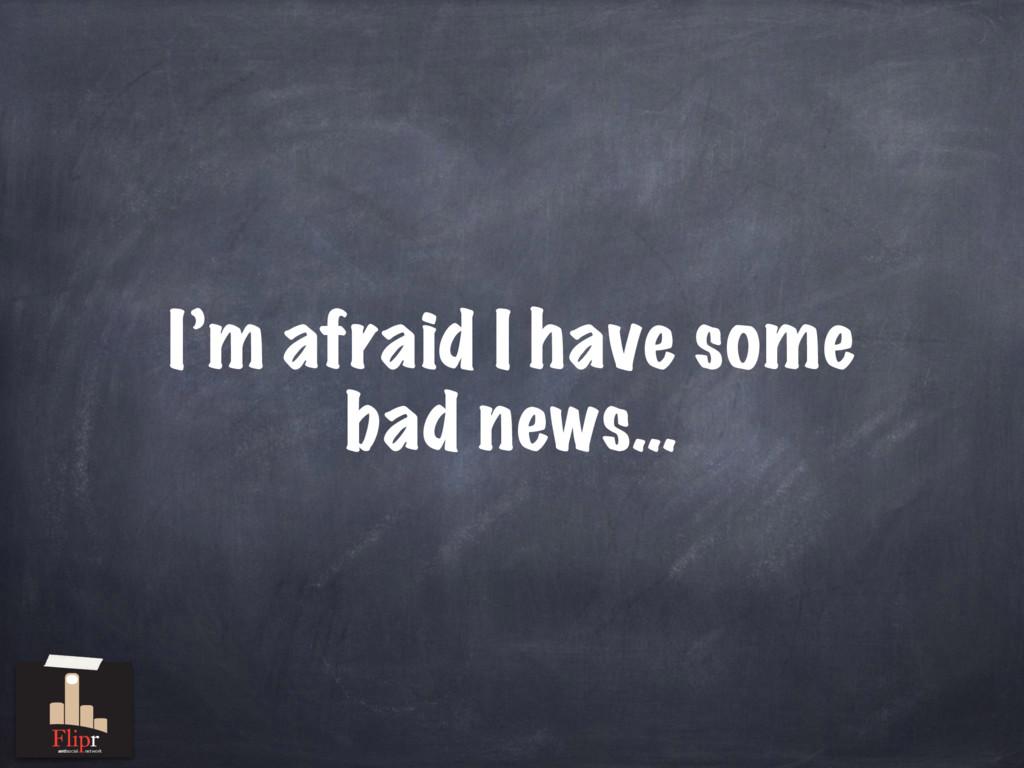 I'm afraid I have some bad news… antisocial net...