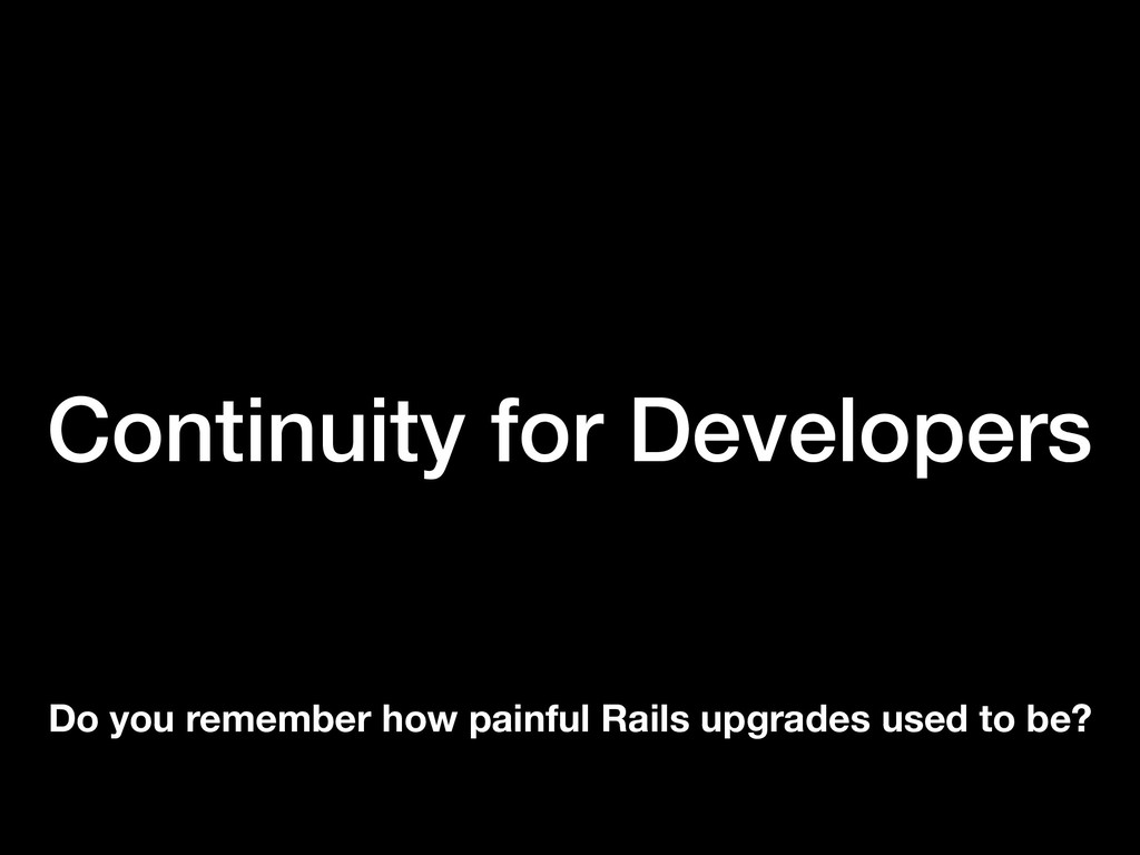 Continuity for Developers Do you remember how p...
