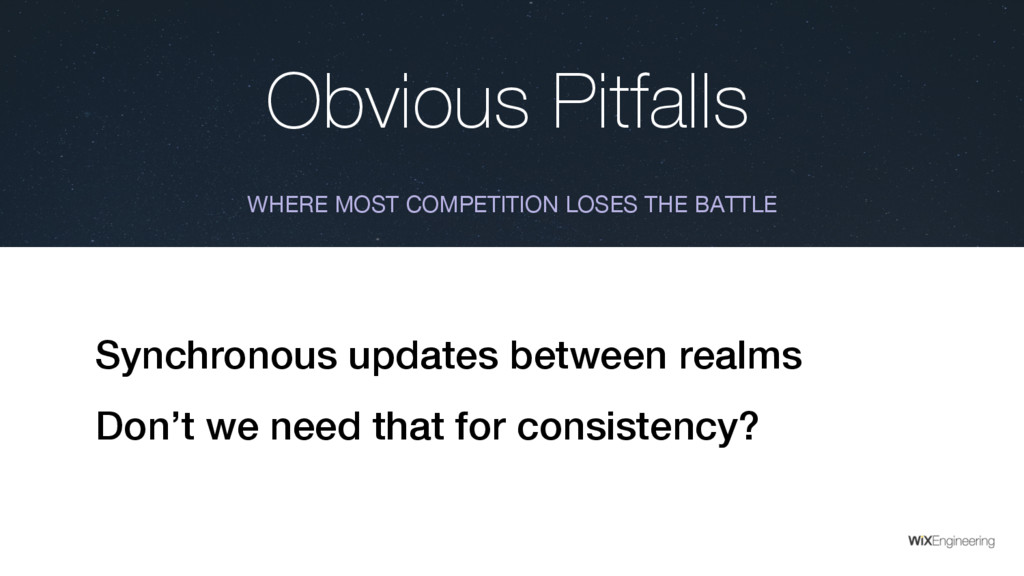 Obvious Pitfalls WHERE MOST COMPETITION LOSES T...