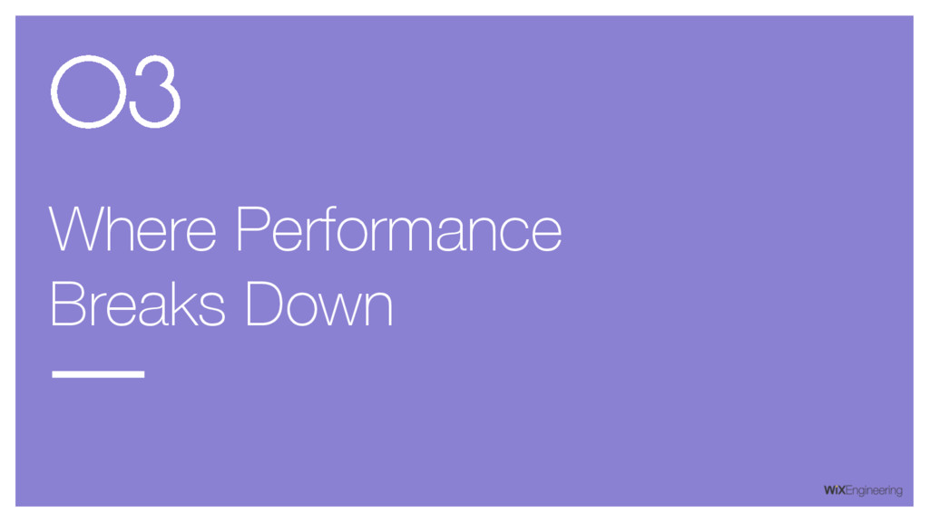 Where Performance Breaks Down 03