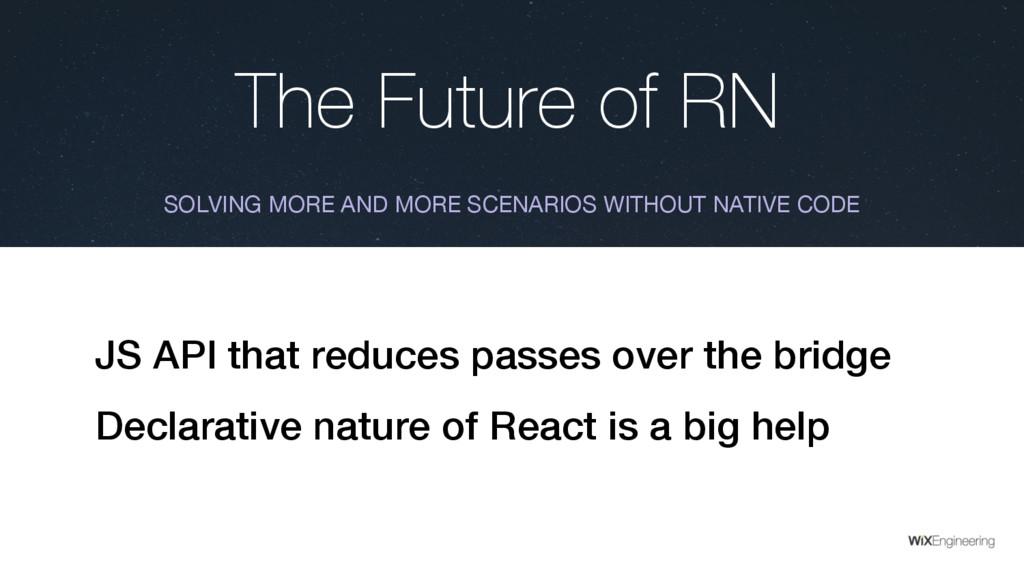 The Future of RN SOLVING MORE AND MORE SCENARIO...