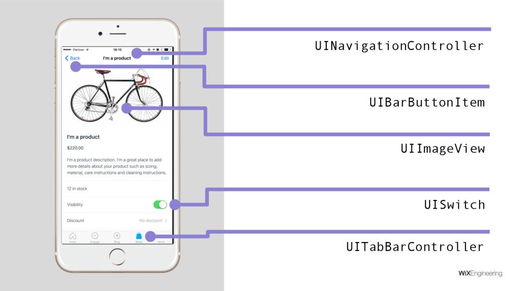 UINavigationController UIImageView UISwitch UIT...