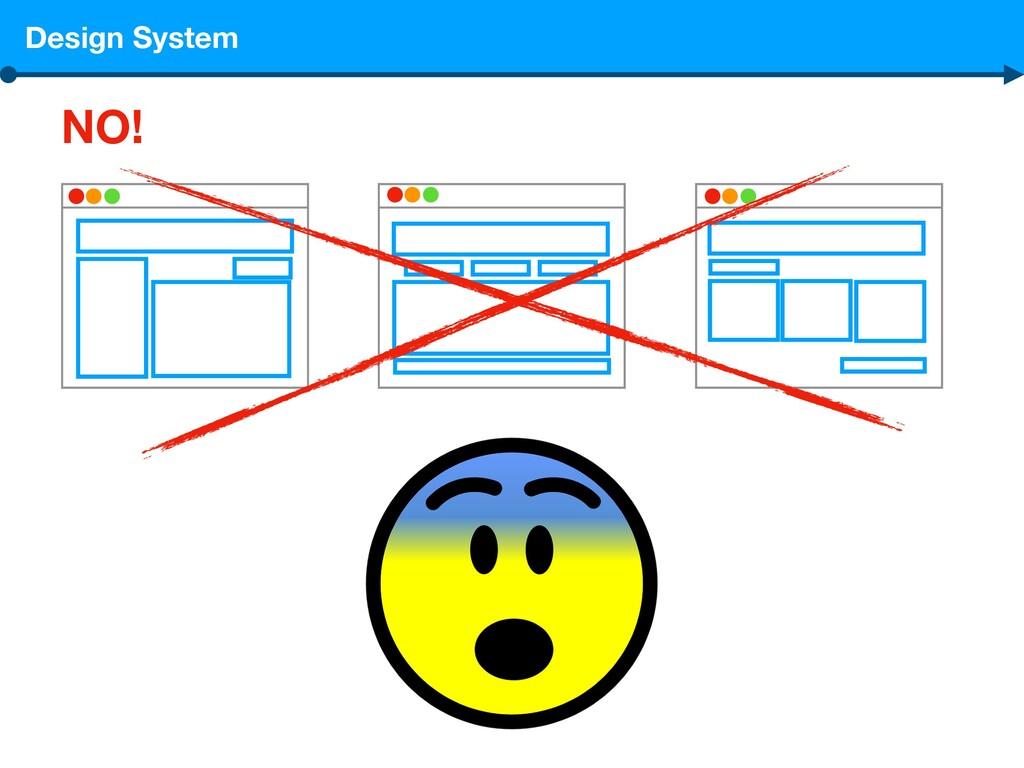 Design System NO!