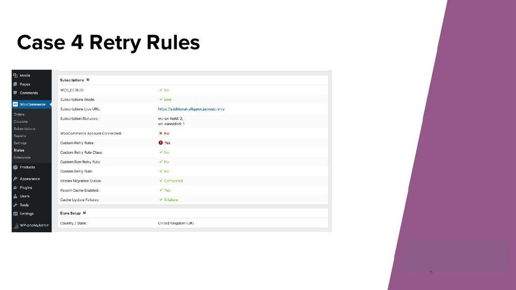 Case 4 Retry Rules