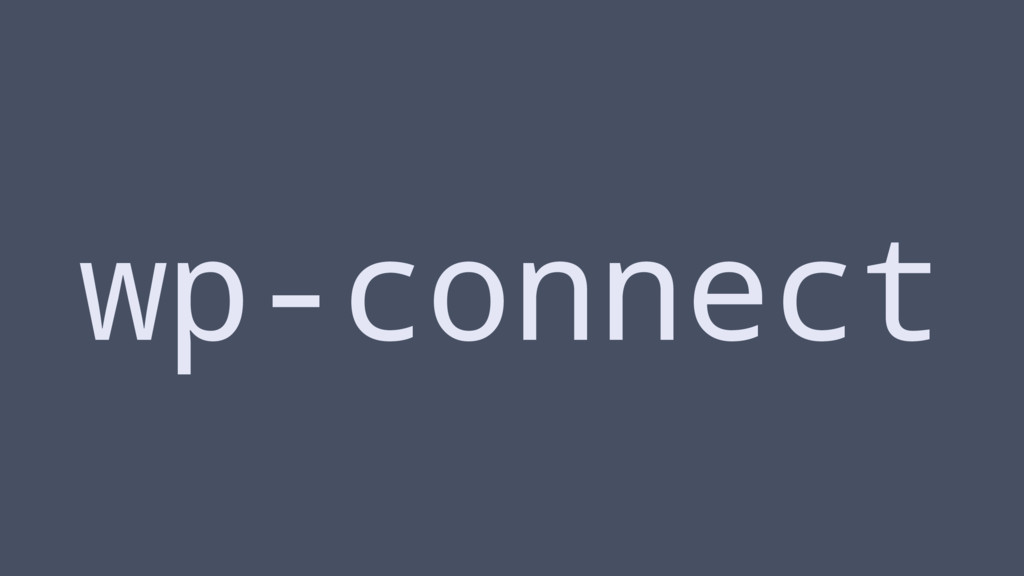 wp-connect