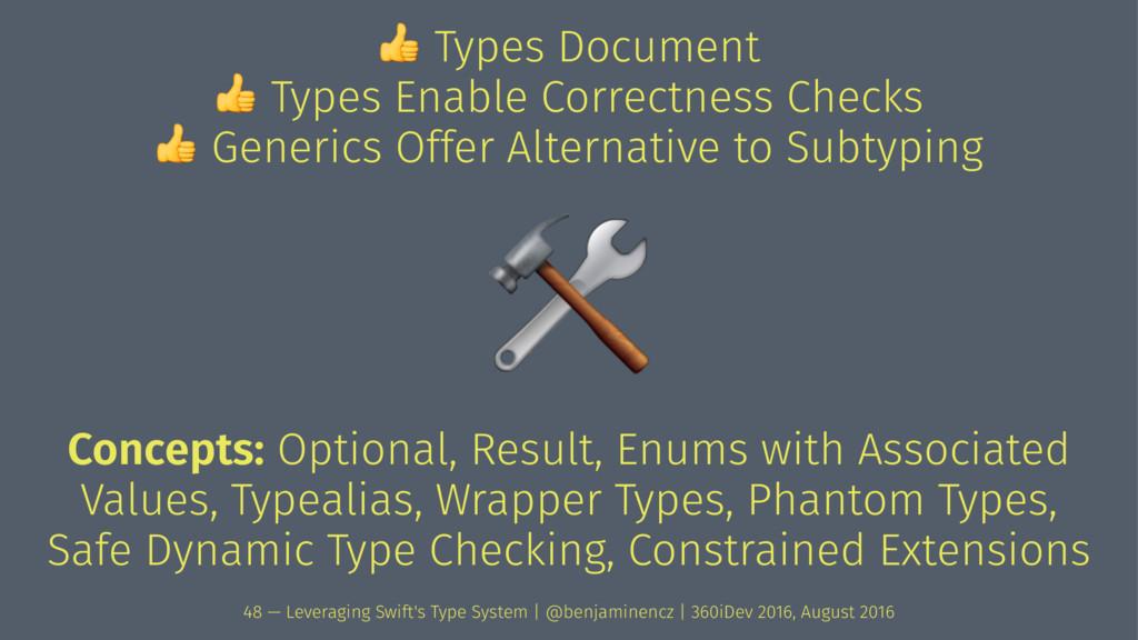 ! Types Document ! Types Enable Correctness Che...