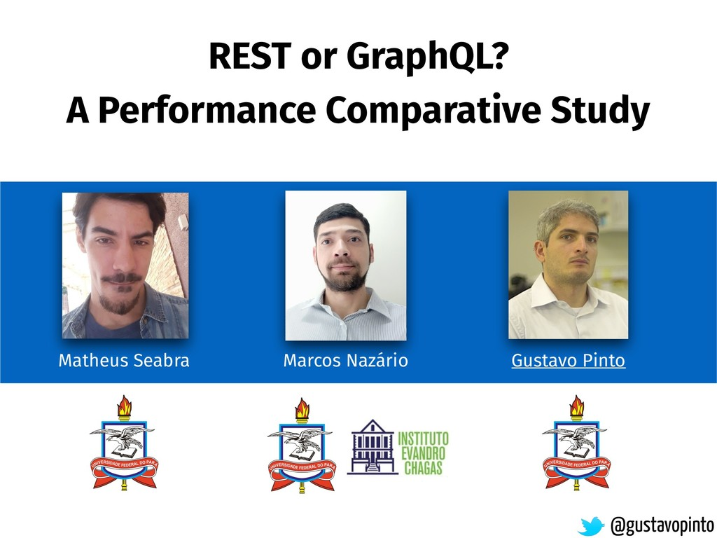REST or GraphQL? A Performance Comparative Stud...