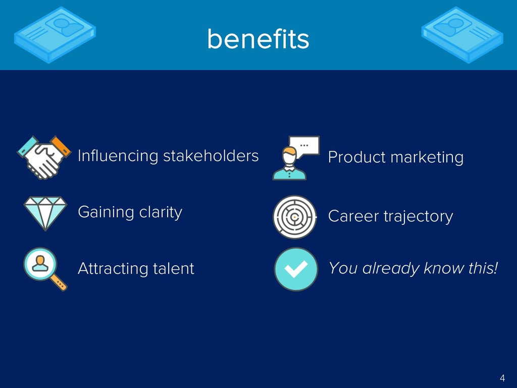 4 benefits Career trajectory Gaining clarity At...