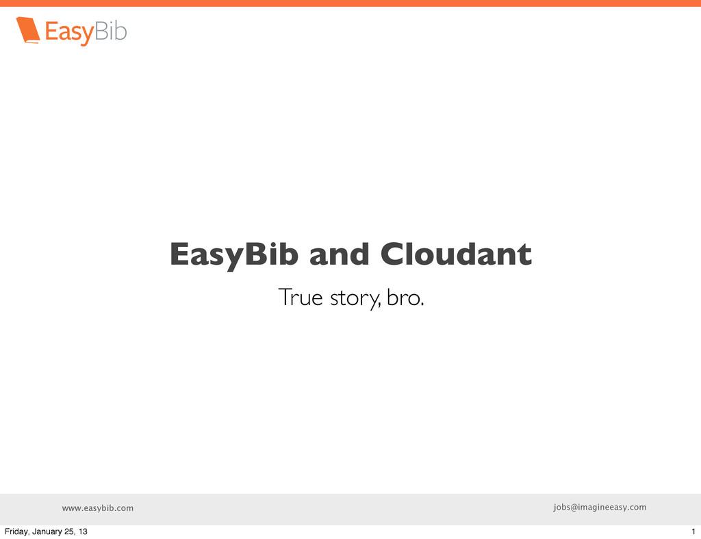 www.easybib.com jobs@imagineeasy.com EasyBib an...