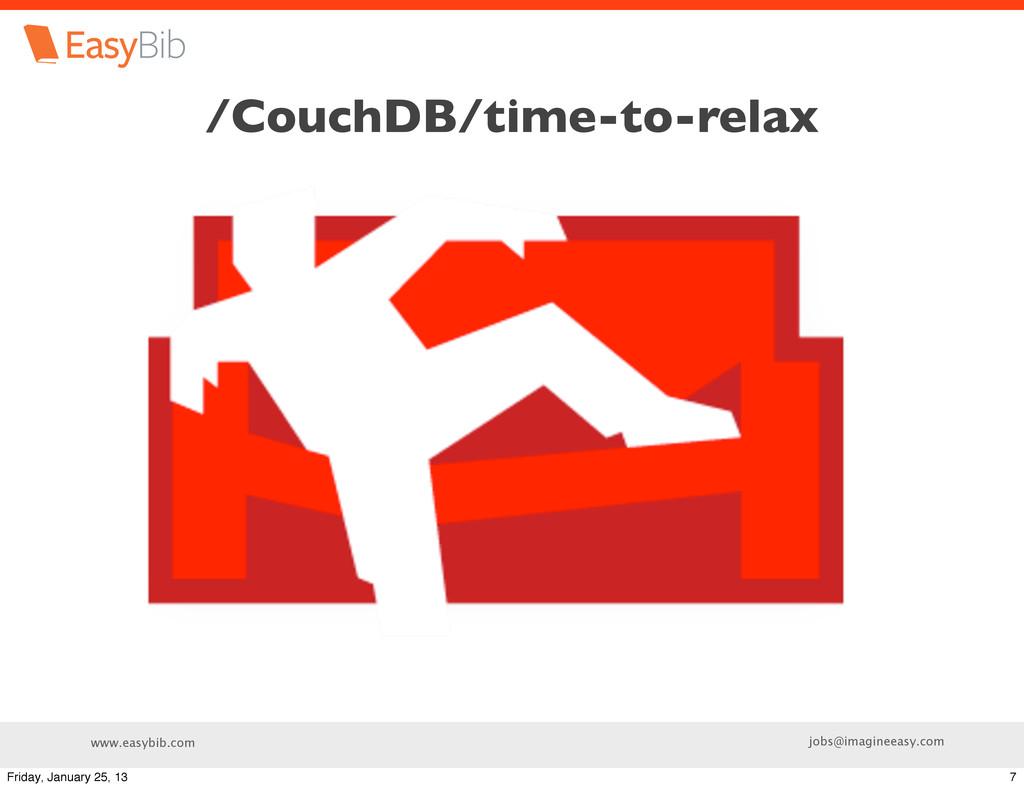 www.easybib.com jobs@imagineeasy.com /CouchDB/t...
