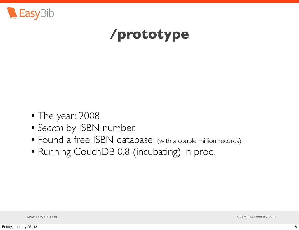 www.easybib.com jobs@imagineeasy.com /prototype...