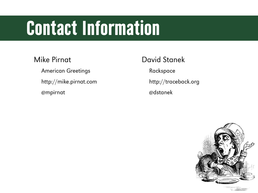 Contact Information Mike Pirnat American Greeti...