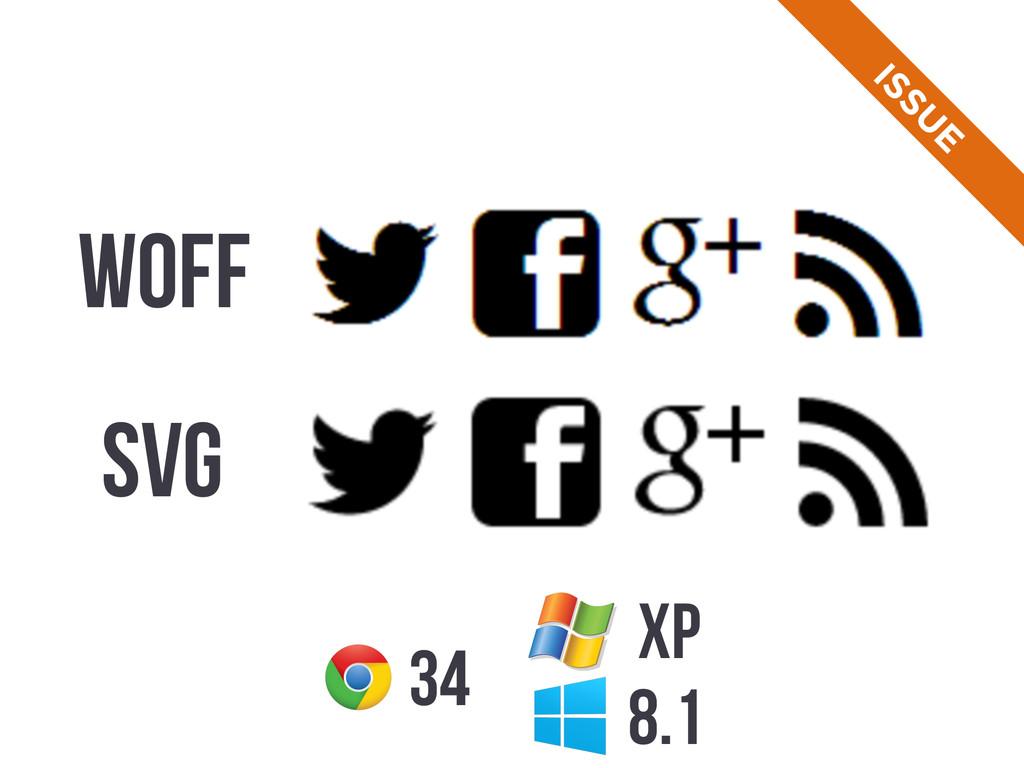 34 8.1 WOFF SVG ISSU E XP
